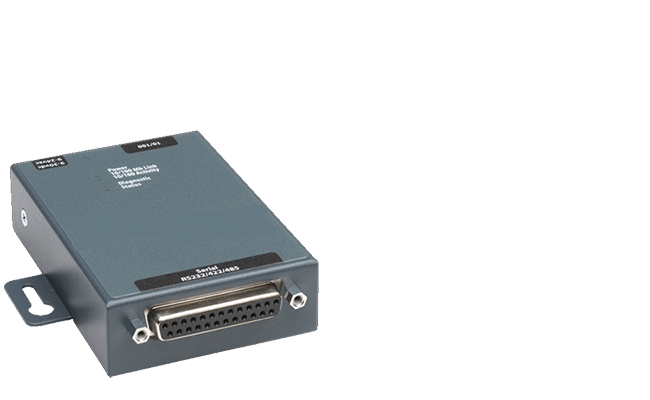 network adapter RS-232 / Ethernet